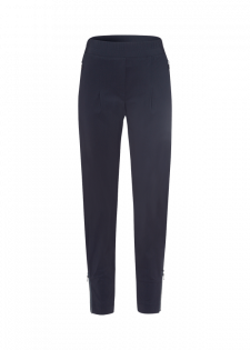 Jerseyhose mit Zipper-Details