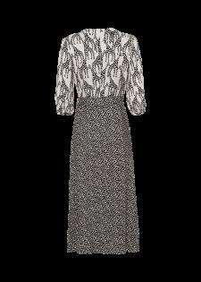 Wickelkleid mit Giraffenprint