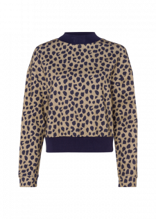 Shirt mit Animalprint