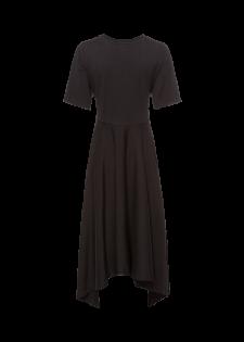 Jerseykleid mit Knotendetail