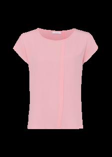 Blusenshirt mit asymmetrischer Blende