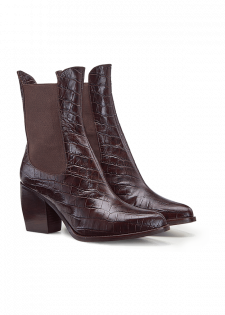 ANKLE BOOTS MIT WESTERN-DETAILS