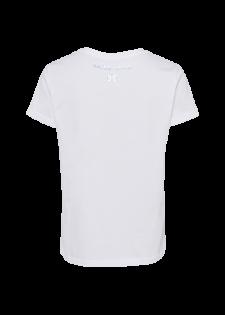 T-Shirt mit Labelwording