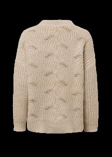 Pullover im Strukturstrick-Design