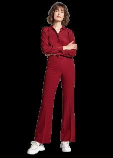 Wide-fit Pants mit Bügelfalten