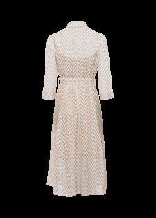 Blusenkleid im Lochstick-Design