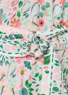 Florales Hemdblusenkleid