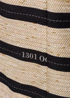 Minikleid im Streifen-Look