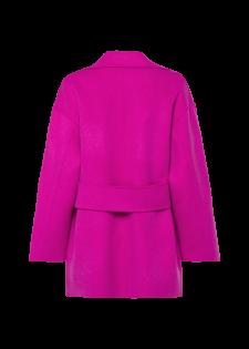 Verschlussloser Mantel