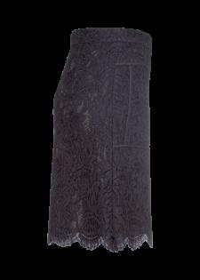 Spitzenrock mit Paspel-Details