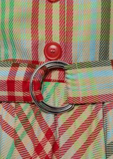 Blusenkleid mit Karomuster
