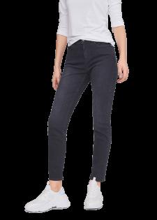Slim-fit-Jeans in Used-Optik