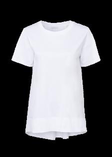 Shirt mit Faltendekor