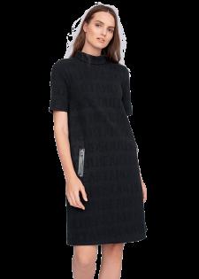 Cooles Kleid mit Zip-Taschen