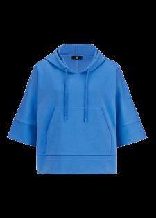 Kurzer Cotton-Hoodie