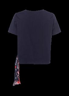 Printshirt mit Knoten