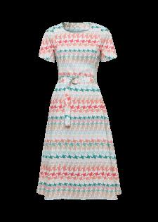 Kleid im Alloverdesign