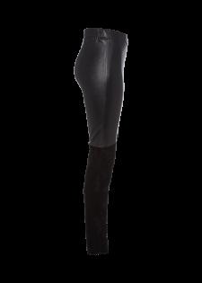Leggings aus Nappaleder